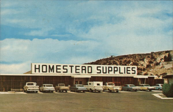 Homestead Supplies Advertising