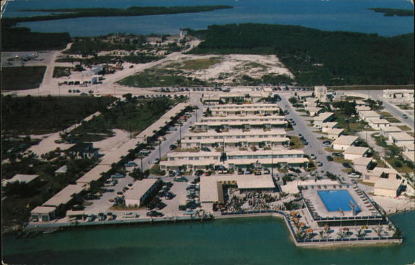 Aerial View, Jack Tar Hotel in the Keys Marathon Florida