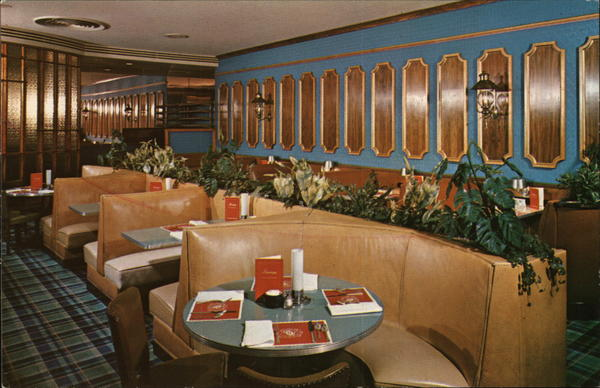 The Cafe Lounge, Hotel Harrisburger Pennsylvania