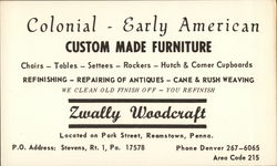 Zwally Woodcraft, Colonial-Early American Custom Made Furniture
