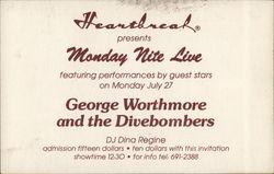 Heartbreak Presents Monday Nite Live