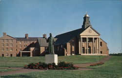 Christ the Teacher Chapel and Statue, Merrimack College