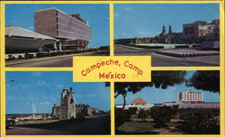 Different Aspects of Campeche, Camp Mexico