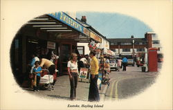 Eastoke Beach, Hayling Island Postcard