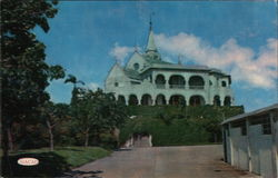 Penha Church and Bishop's Residence Postcard