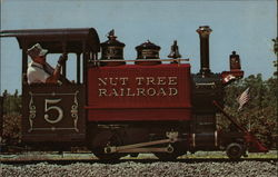The Nut Tree Railroad Engine