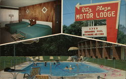 The Ritz of Route 40 Postcard