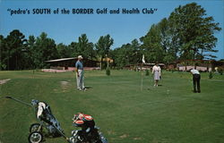 """pedro's SOUTH of the BORDER Golf and Health Club"""