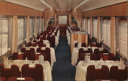 Southern Pacific Dining Car