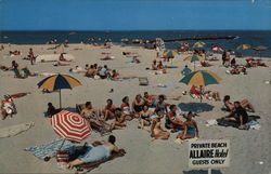 The Allaire, Spring Lake Beach Postcard