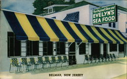 Dave and Evelyn's Sea Food Restaurant Postcard
