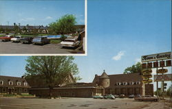 The Town & Country Motel Postcard