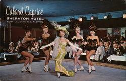 Cabaret Caprice, Sheraton Hotel
