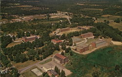 Aerial View of Thiel College Campus