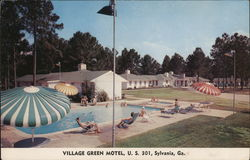 Village Green Motel, U.S. 301, Sylvania, Ga.