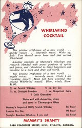 Mammy's Shanty - Whirlwind Cocktail Recipe