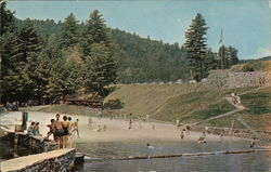 The Beach at Unicoi State Park