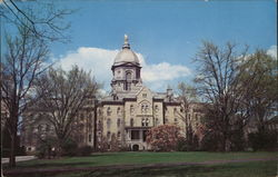 University of Notre Dame - Main Building - Magnoias Postcard