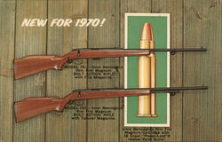 New Rifles for 1970! by Remington