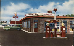 Melton's Restaurant, Service Station
