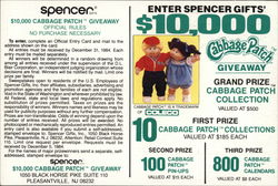Spencer Gifts Cabbage Patch Kids Giveaway