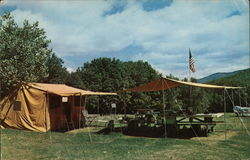 Dolly Copp Camp Ground Postcard