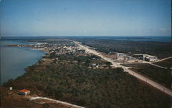 Air View of Key Largo on the Famous Overseas Highway, Florida