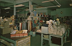 Factory and Discount Store Postcard