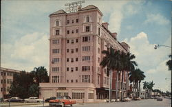 Manatee River Hotel Postcard