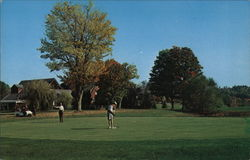 18th Green and Club House, Waukewan Golf Club