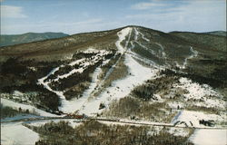 Aerial View of Big Bromley Ski Area