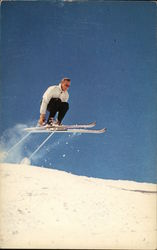Gelandesprung - Skiing