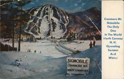 Skiing on Cranmore Mountain