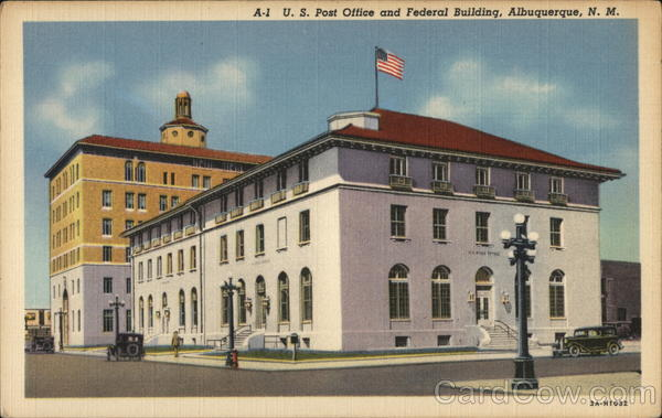Albuquerque Post Office and Federal Building New Mexico