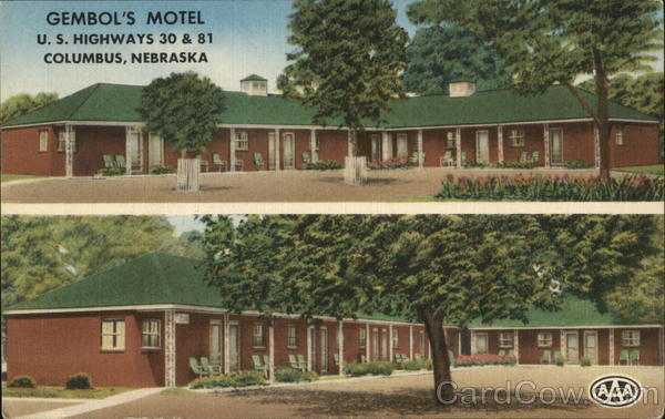 Gembol's Motel Columbus Nebraska