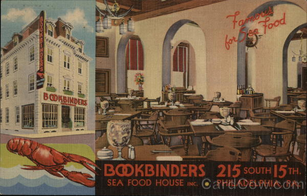 Bookbinders Sea Food House Inc. Philadelphia Pennsylvania