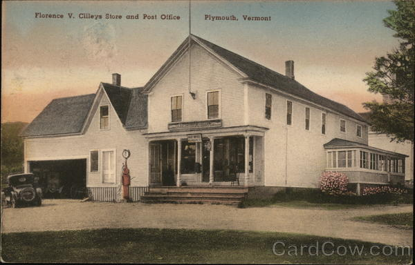 Florence V. CIlleye Store and Post Office Plymouth Vermont