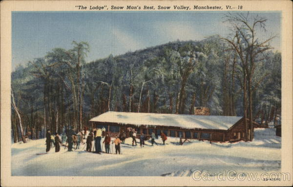 The Lodge, Snow Man's Rest, Snow Valley Manchester Vermont