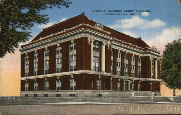 Missouri Supreme Court Building Jefferson City