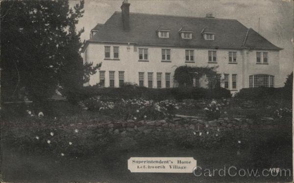 Superintendent's Home, Letchworth Village