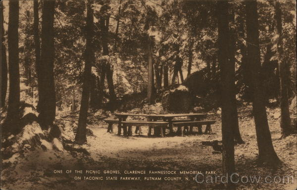 The Picnic Groves at Clarence Fahnestock Memorial Park