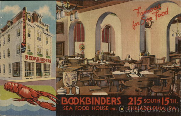 Bookbinders Sea Food House Philadelphia Pennsylvania