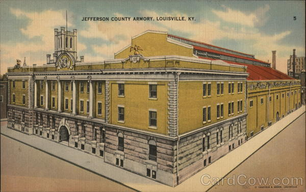 Jefferson County Armory Louisville Kentucky