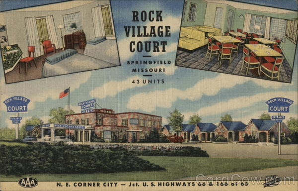 Rock Village Court Springfield Missouri