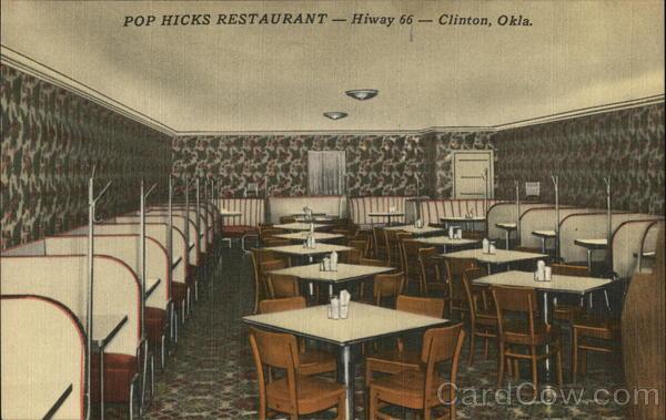 Pop Hicks Restaurant Clinton Oklahoma