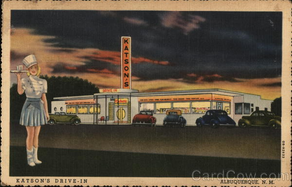 Katson's Drive In Restaurant Albuquerque New Mexico