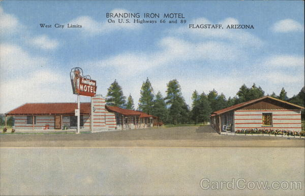 Branding Iron Motel Flagstaff Arizona