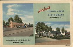 Hahn's Tourist Court and Restaurant