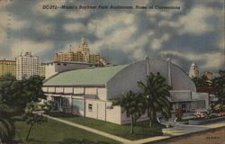 Miami's Bayfront Park Auditorium, Home of Conventions