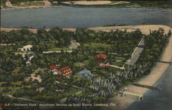 """Palmora Park"" Residence Section on Lake Harris Postcard"